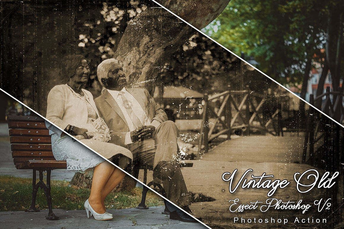 6-In-1 Vintage Photoshop Actions Bundle - PREVIEW 32...