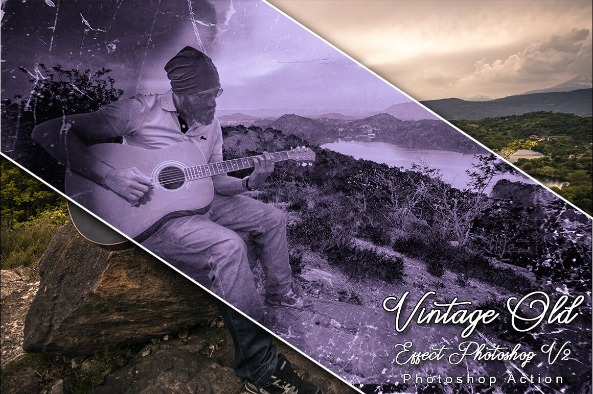 6-In-1 Vintage Photoshop Actions Bundle - PREVIEW 34 1