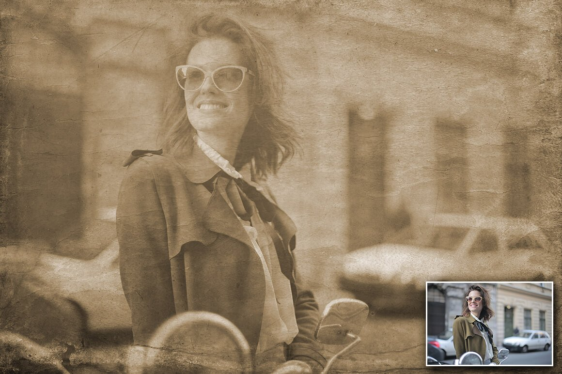6-In-1 Vintage Photoshop Actions Bundle - PREVIEW 5 3