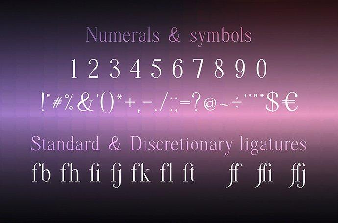 Quffer Regular Thin Serif Font - Quffer 3 3tm