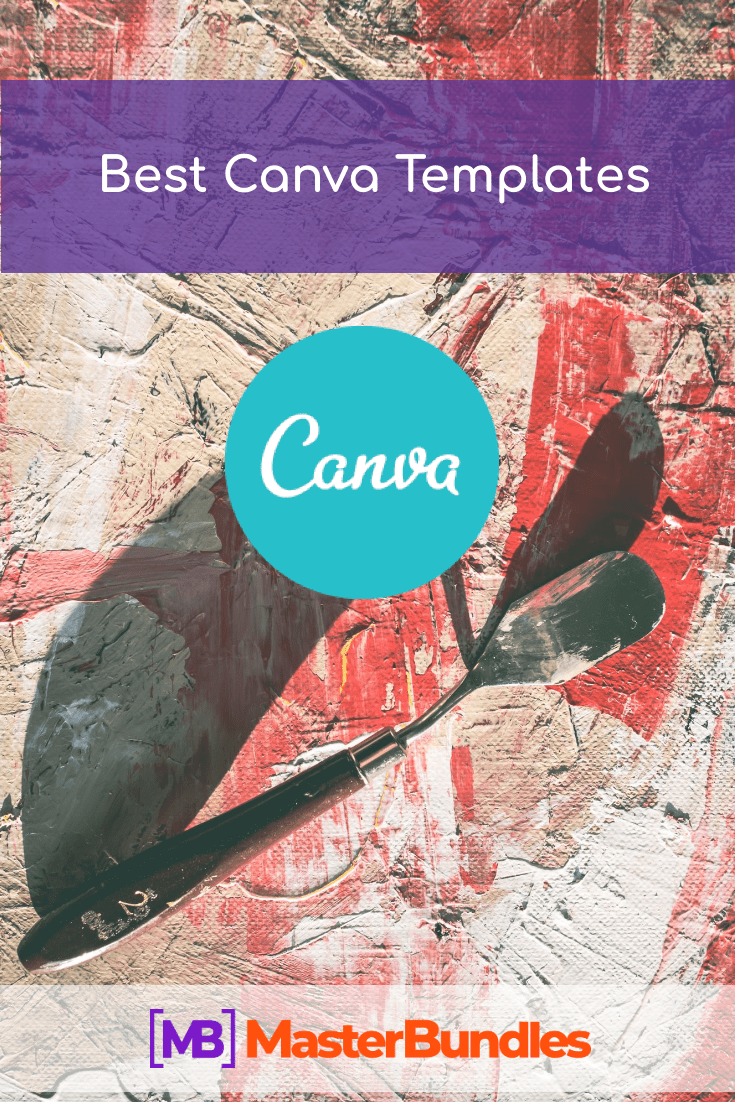 Best Canva Templates. Pinterest Image.