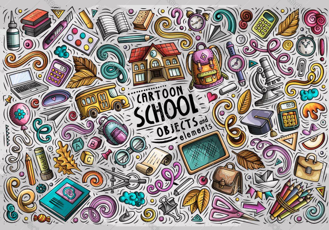 55+ Best Back to School Clipart and Images: Largest Kit 2020 - clipart 11