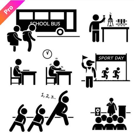 55+ Best Back to School Clipart and Images: Largest Kit 2020 - clipart 24
