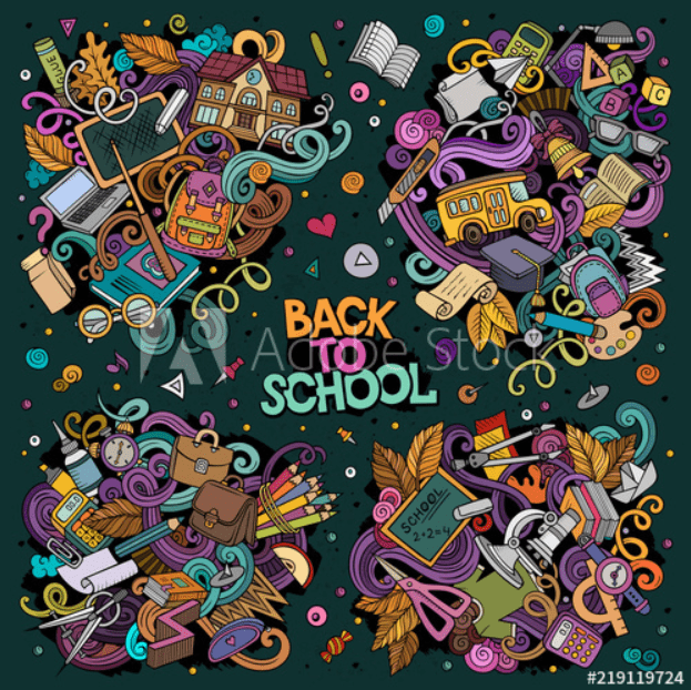 55+ Best Back to School Clipart and Images: Largest Kit 2020 - clipart 25