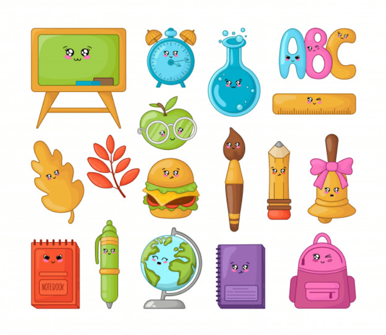 55+ Best Back to School Clipart and Images: Largest Kit 2020 - clipart 33