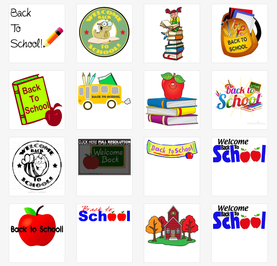 55+ Best Back to School Clipart and Images: Largest Kit 2020 - clipart 36