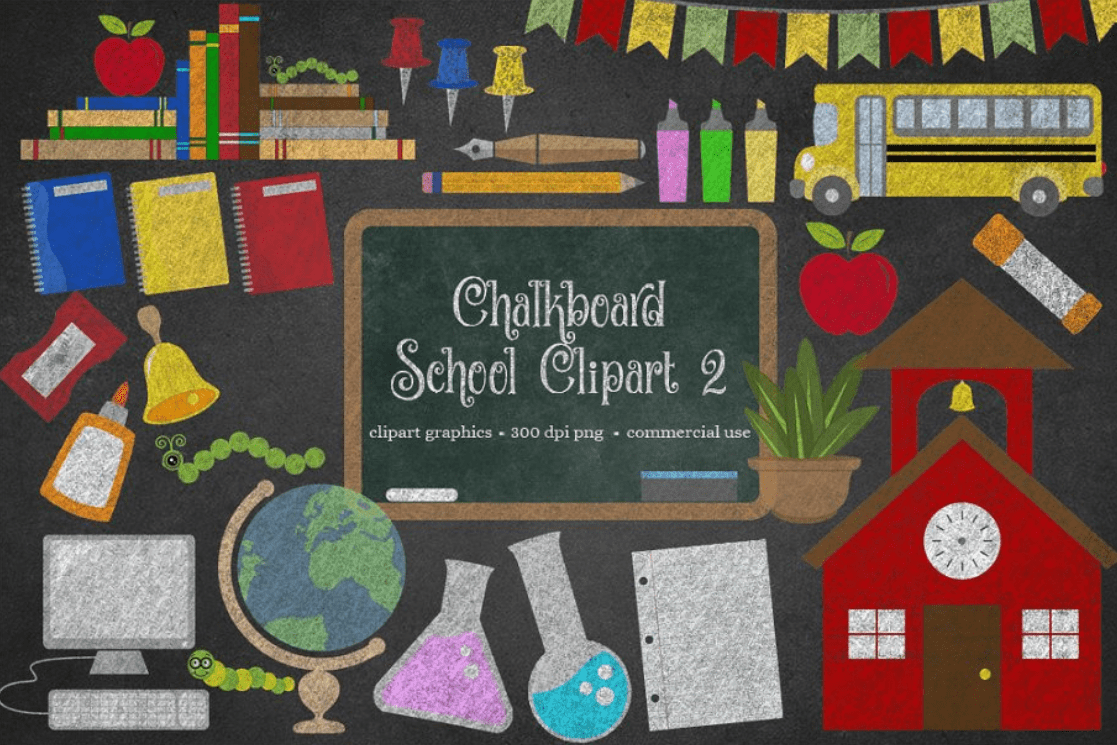55+ Best Back to School Clipart and Images: Largest Kit 2020 - clipart 4