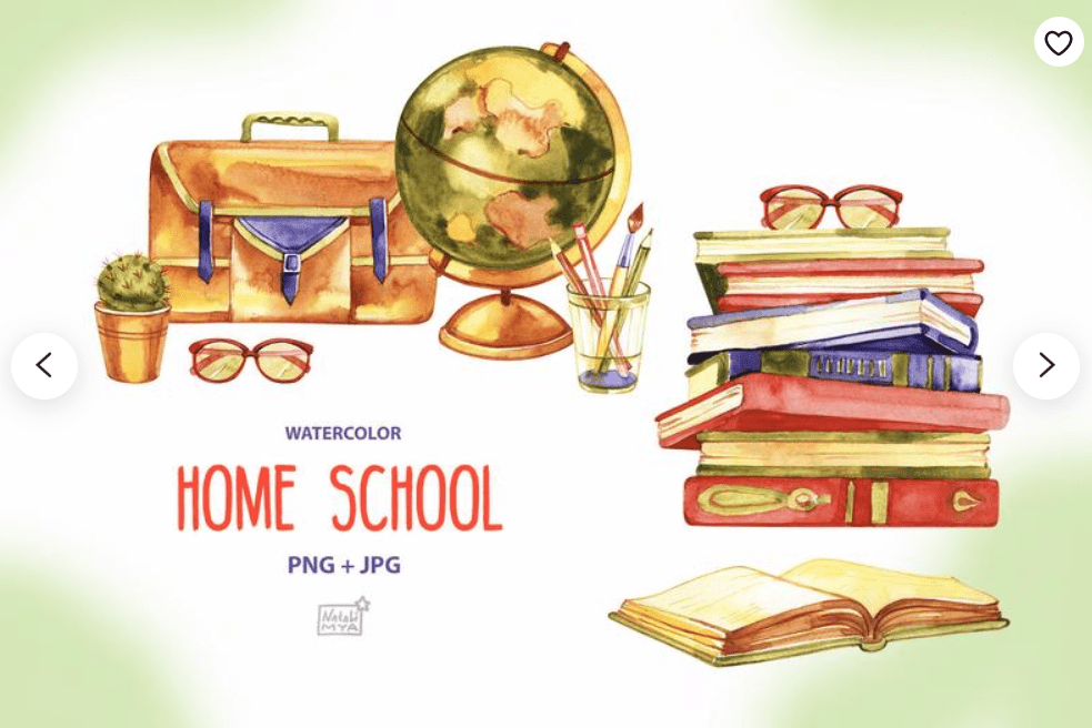 55+ Best Back to School Clipart and Images: Largest Kit 2020 - clipart 45