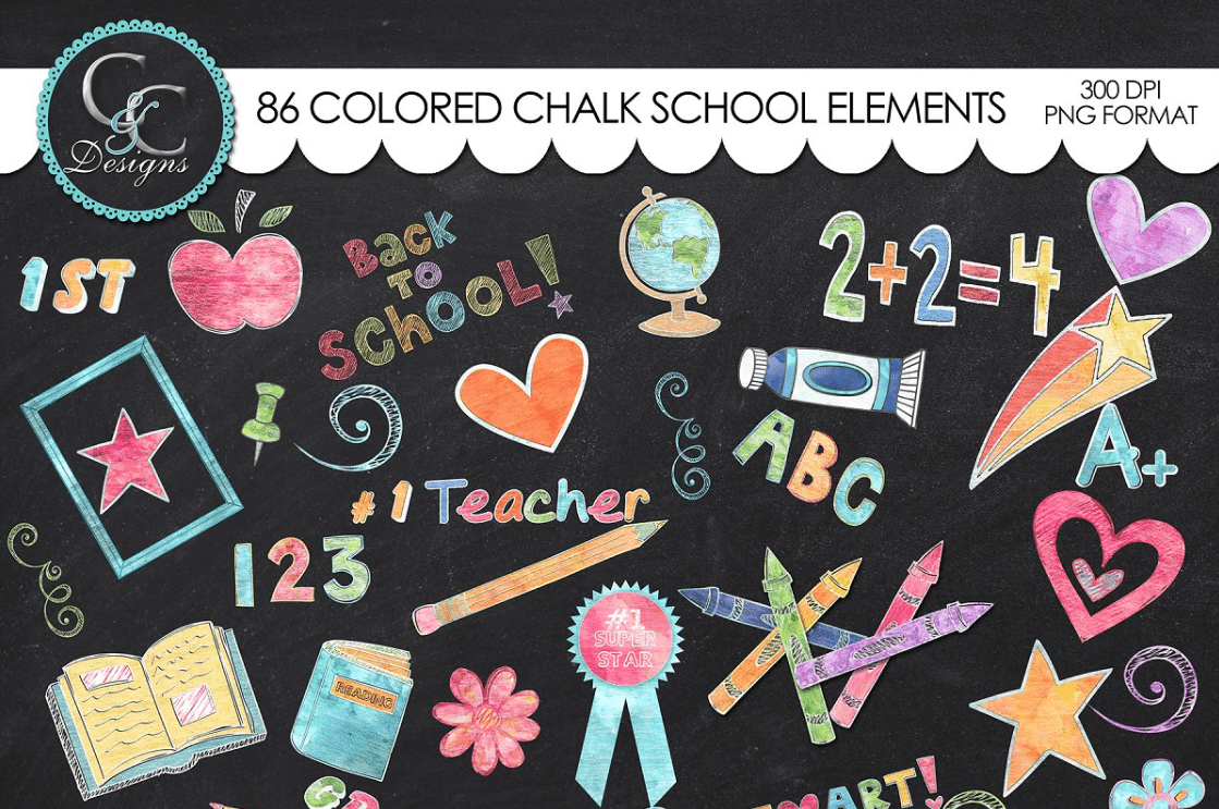 55+ Best Back to School Clipart and Images: Largest Kit 2020 - clipart 6