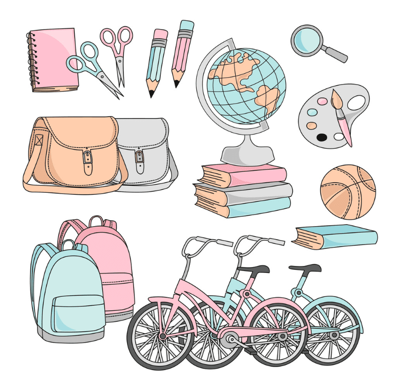 55+ Best Back to School Clipart and Images: Largest Kit 2020 - clipart 8