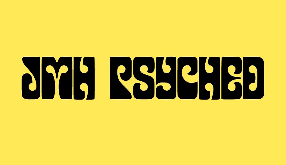 20 Best Psychedelic Fonts for Printing, Websites, Logos and Applications - image18 1