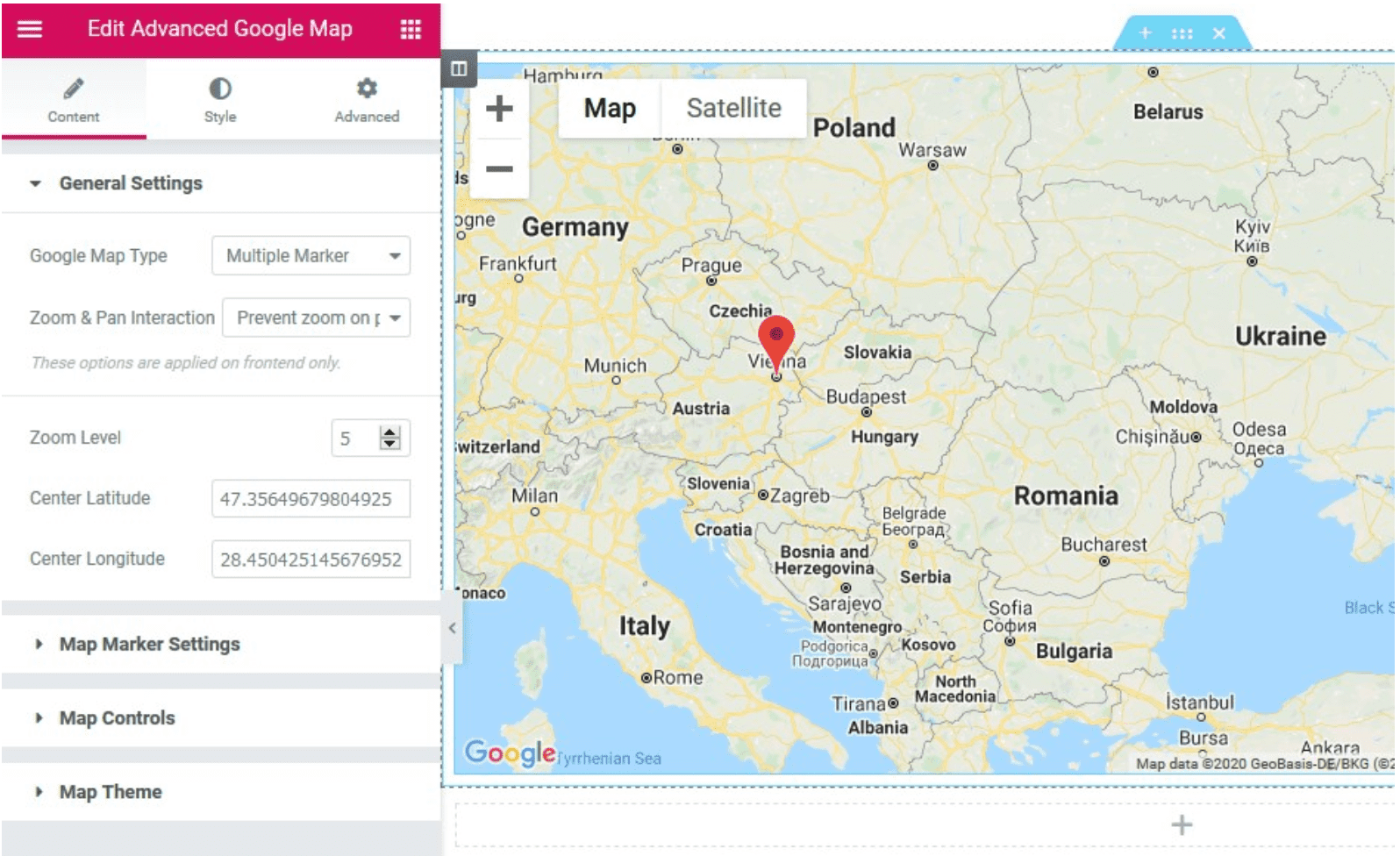 Advanced Google Map. Stratum Review