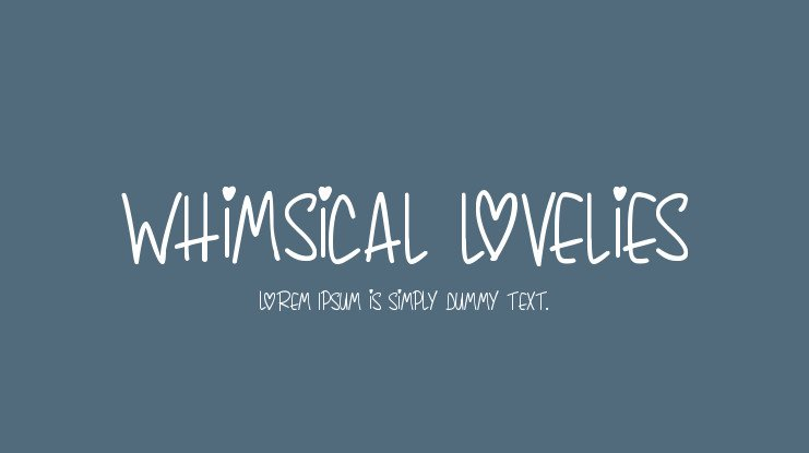 15+ Trendy Whimsical Fonts for Typography 2020 - image35