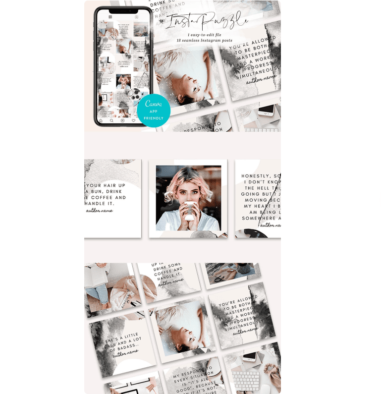 What to Post on Instagram? Top 50+ Ideas for Your Feed - instagram template 5