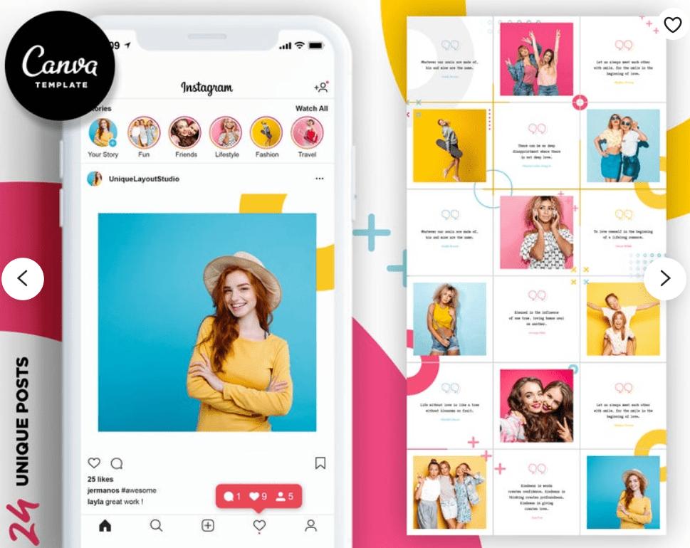 Cute Instagram Picture Ideas in 2020 - instagram template 7 1