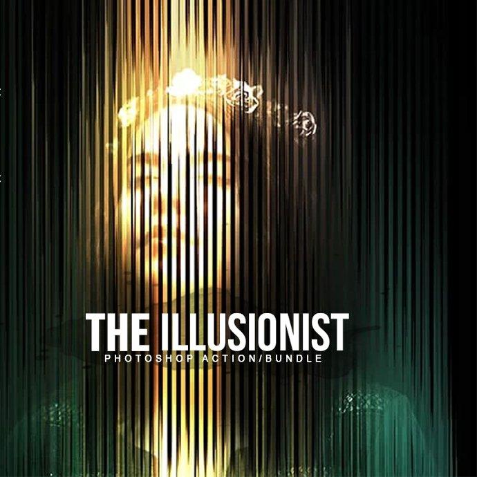 Illusionist Photoshop Action Bundle