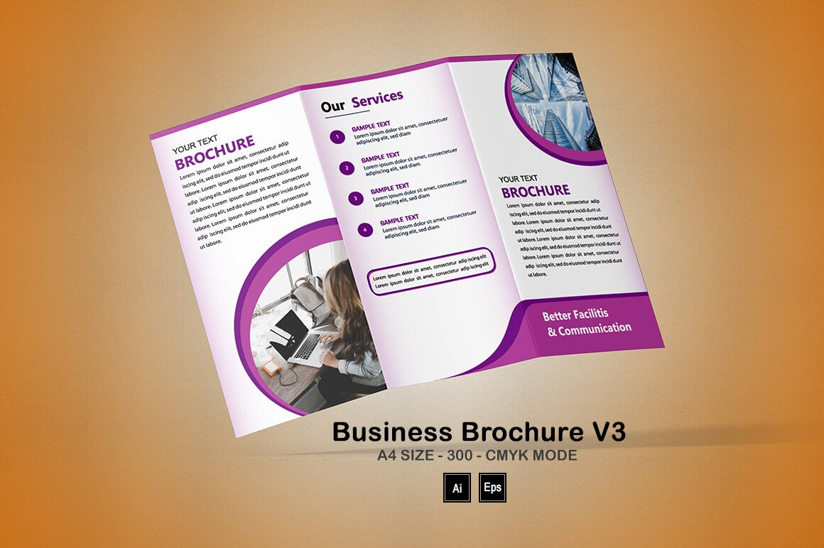 Business Brochure V3: Science Brochure Template - PREVIEW 12 1