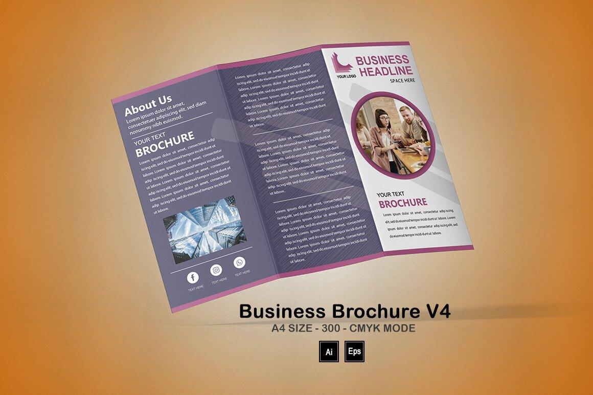 Editable Brochure Template V4 - PREVIEW 15 1