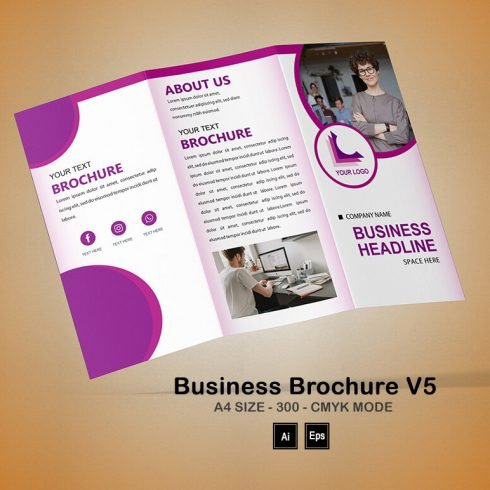 Business Brochure Templates V5 - PREVIEW 17 1 490x490