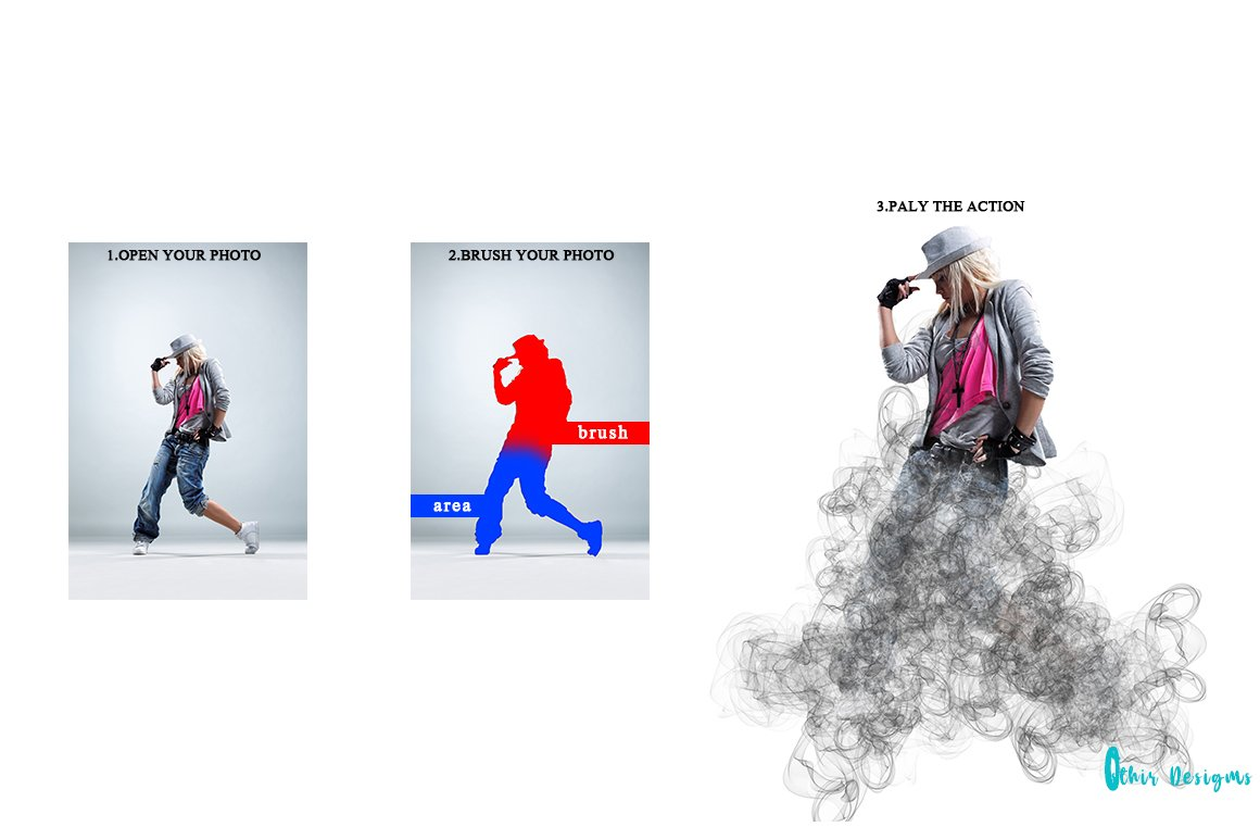 21 in 1 Creative Photoshop Actions Bundle - PREVIEW 21 1