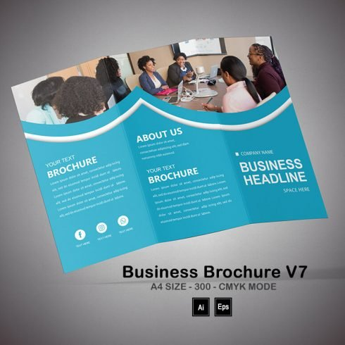 Mental Health Brochure Template - PREVIEW 25 490x490