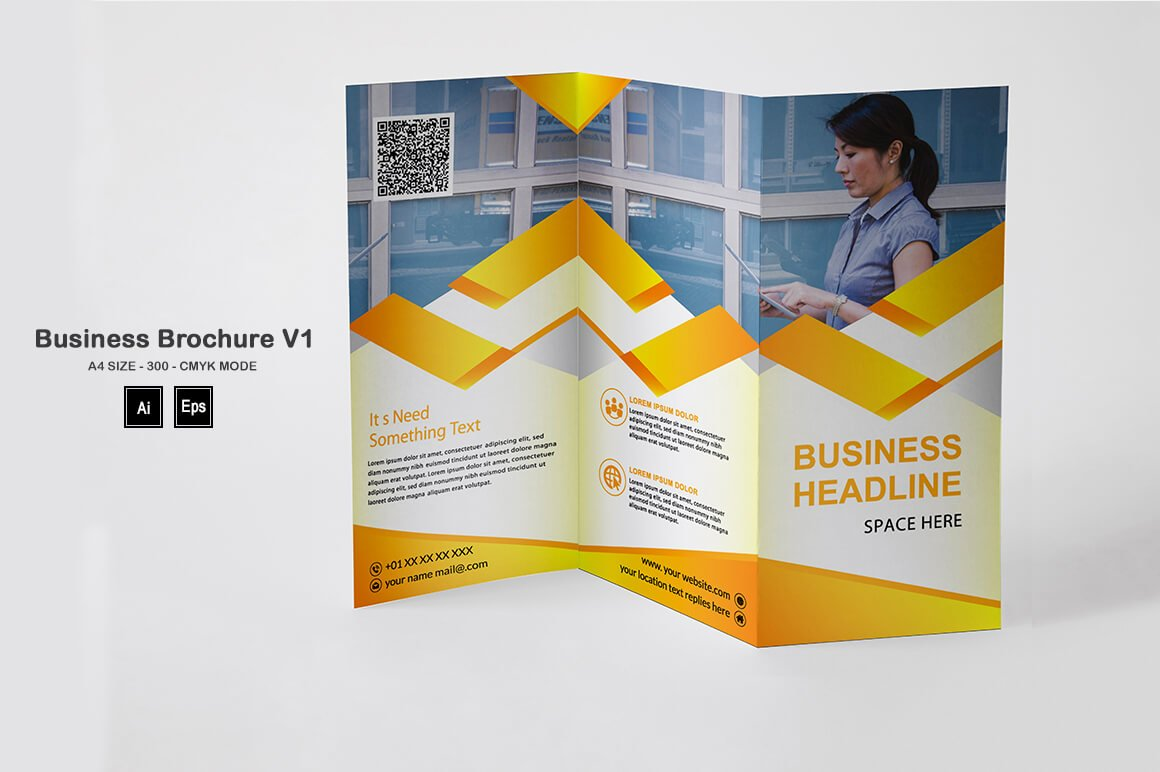 Business Brochure Template V1 - PREVIEW 3 1