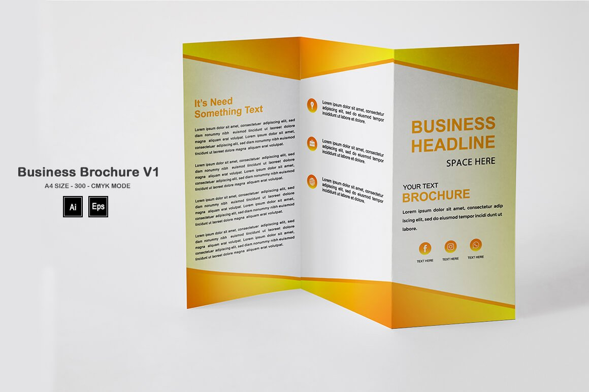 Business Brochure Template V1 - PREVIEW 4 1