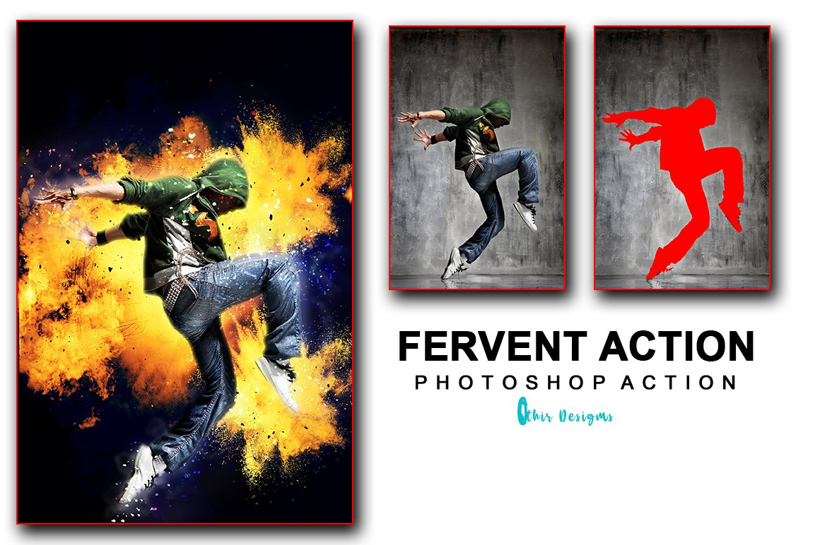21 in 1 Creative Photoshop Actions Bundle - PREVIEW 53
