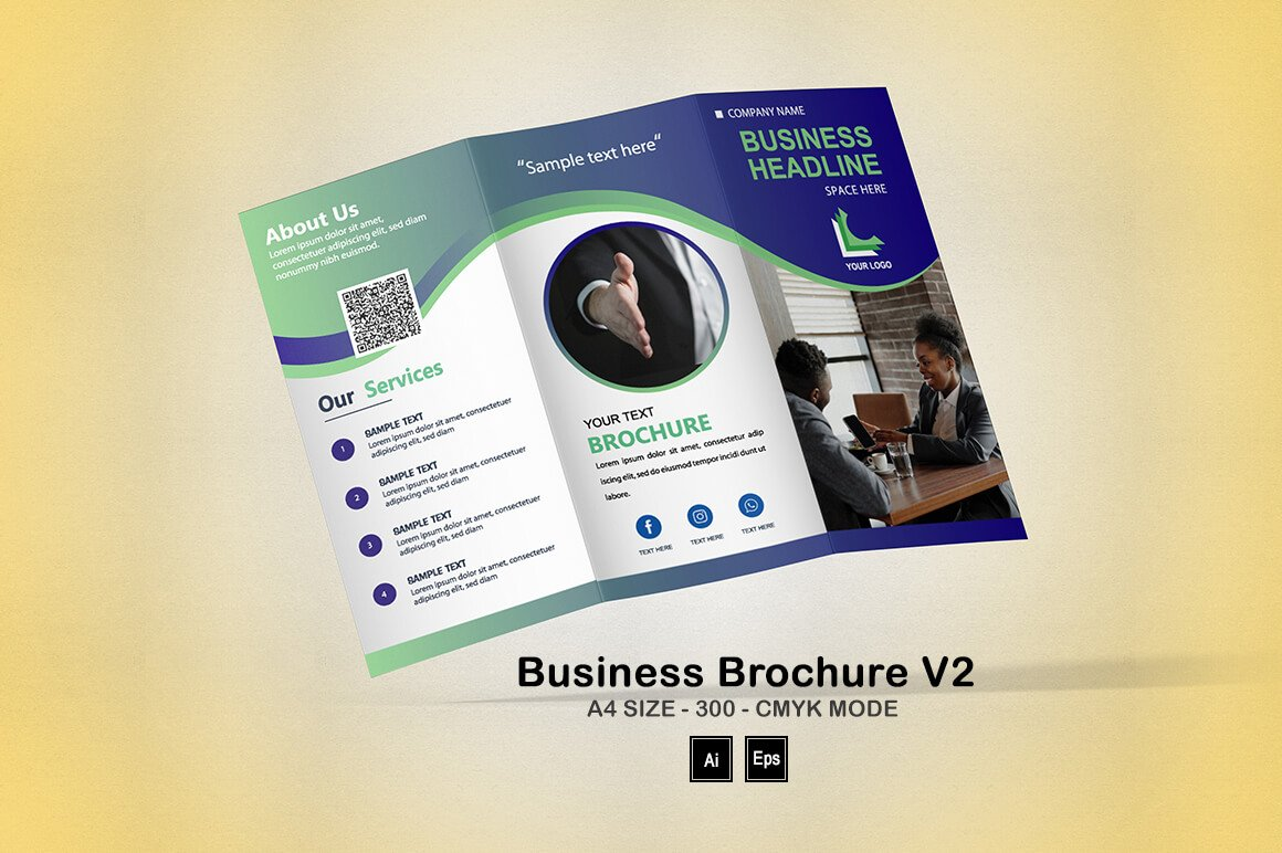 Business Brochure V2: Fundraising Brochure Template - PREVIEW 7 1