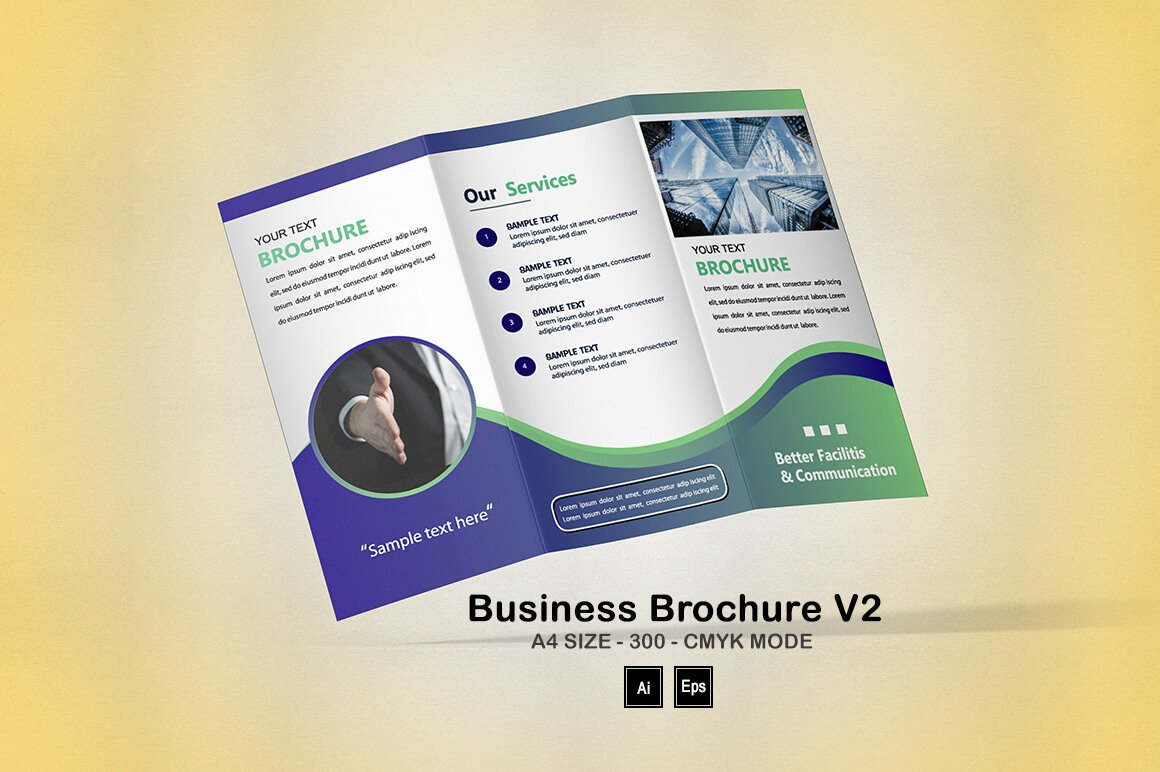 Business Brochure V2: Fundraising Brochure Template - PREVIEW 8 1