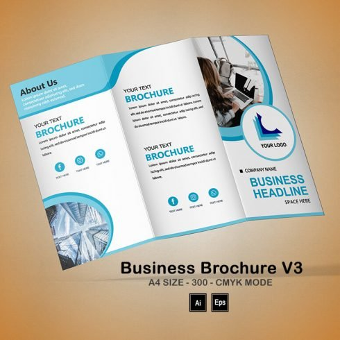 Business Brochure V3: Science Brochure Template - PREVIEW 9 1 490x490