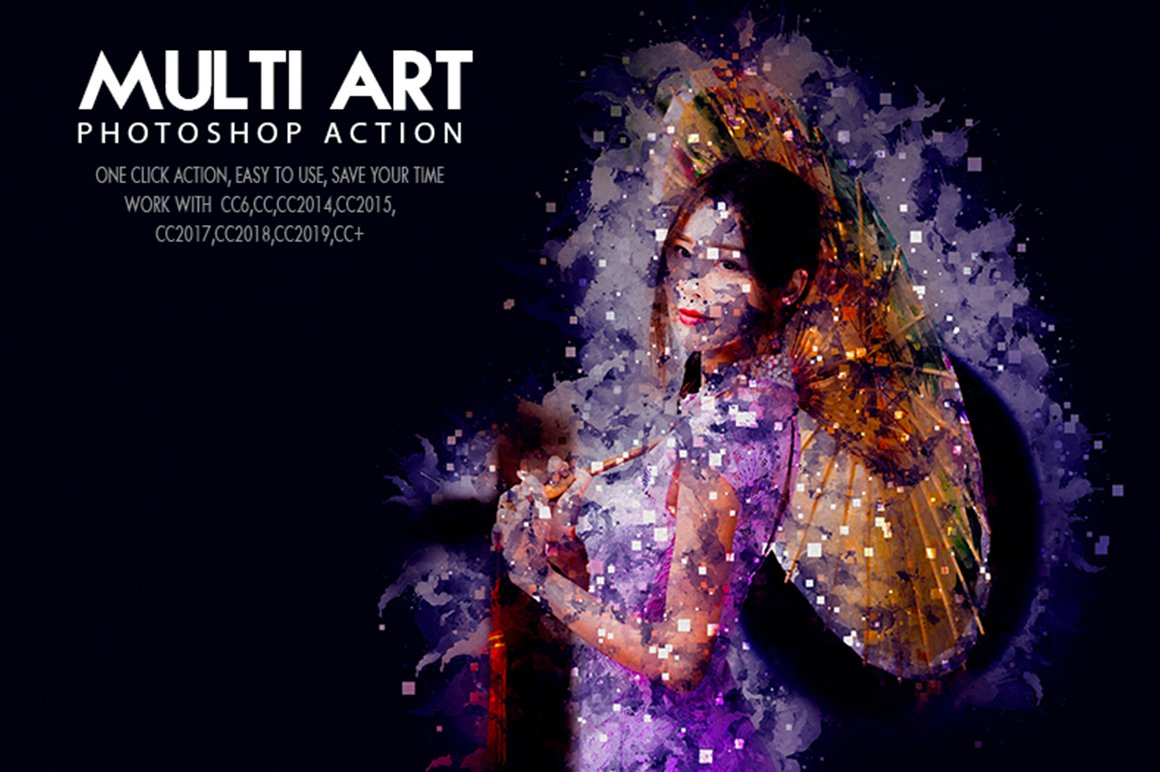 7-In-1 Illusionist Photoshop Action Bundle - Preview 11