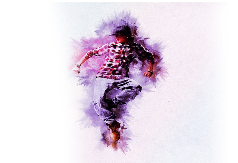 11-In-1 Elegant Watercolor Photoshop Actions Bundle - Preview 13 1