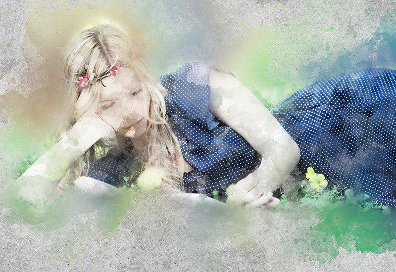 11-In-1 Elegant Watercolor Photoshop Actions Bundle - Preview 18 1