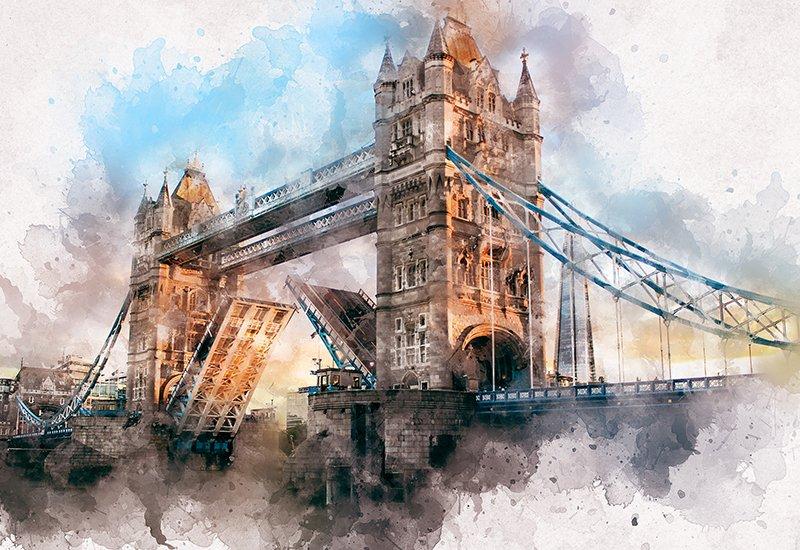 11-In-1 Elegant Watercolor Photoshop Actions Bundle - Preview 19 1