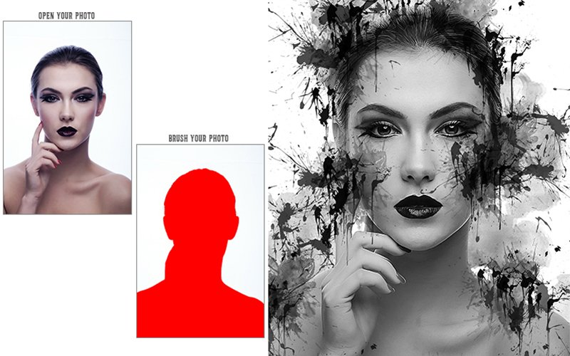 8 In 1 Vibrant Photoshop Action Bundle - Preview 22 3
