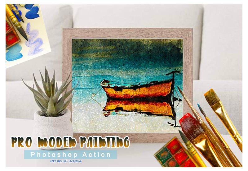 11-In-1 Elegant Watercolor Photoshop Actions Bundle - Preview 37