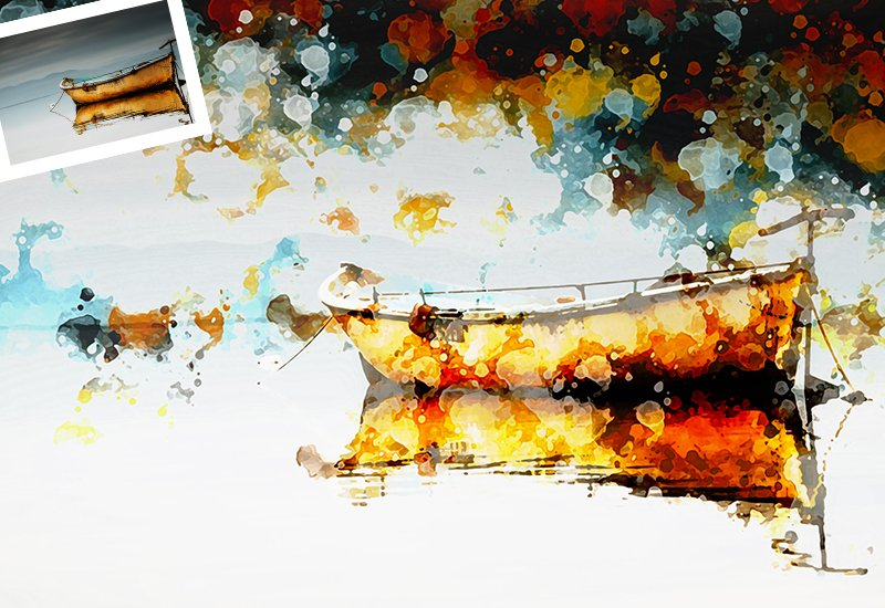 11-In-1 Elegant Watercolor Photoshop Actions Bundle - Preview 51
