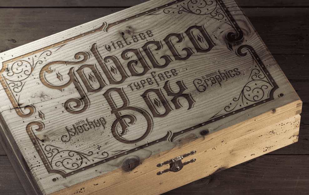 Best Pirate Fonts: Create Fantastic Typography - Tobacco Box Font