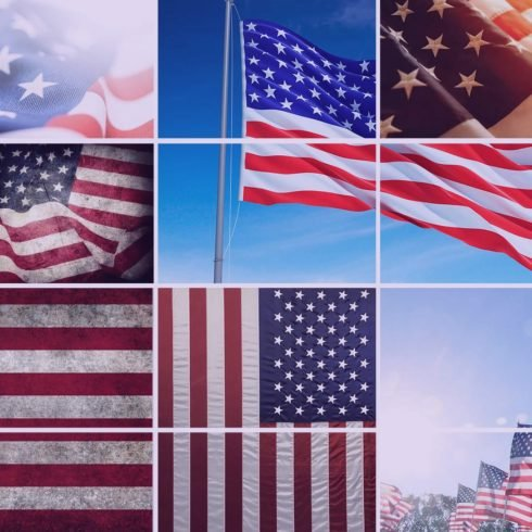 60+ American Flag Vector Products For Your Design Project 2020