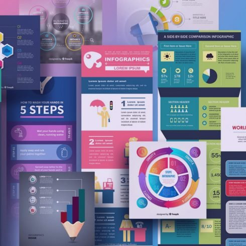 30+ Best Infographic Templates in 2020: Free, Premium, Made By Yourself 💹