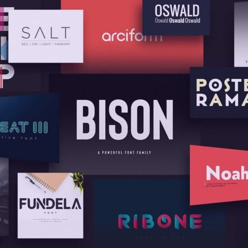 Examples of the best logo fonts.