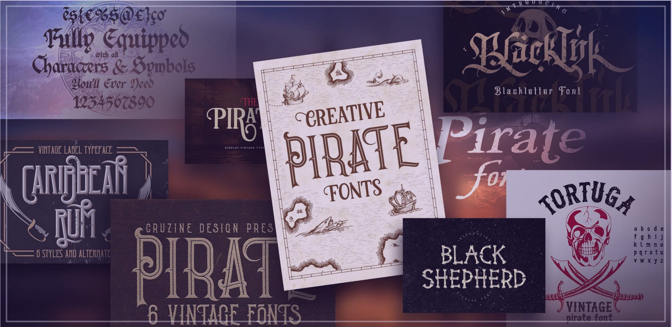 95+ Best Girly Fonts 2021: Free, Premium & Bundles - best pirate fonts