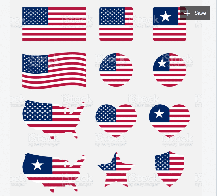 60+ American Flag Vector Products For Your Design Project 2020 - flag vector 15
