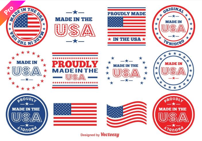 60+ American Flag Vector Products For Your Design Project 2020 - flag vector 17