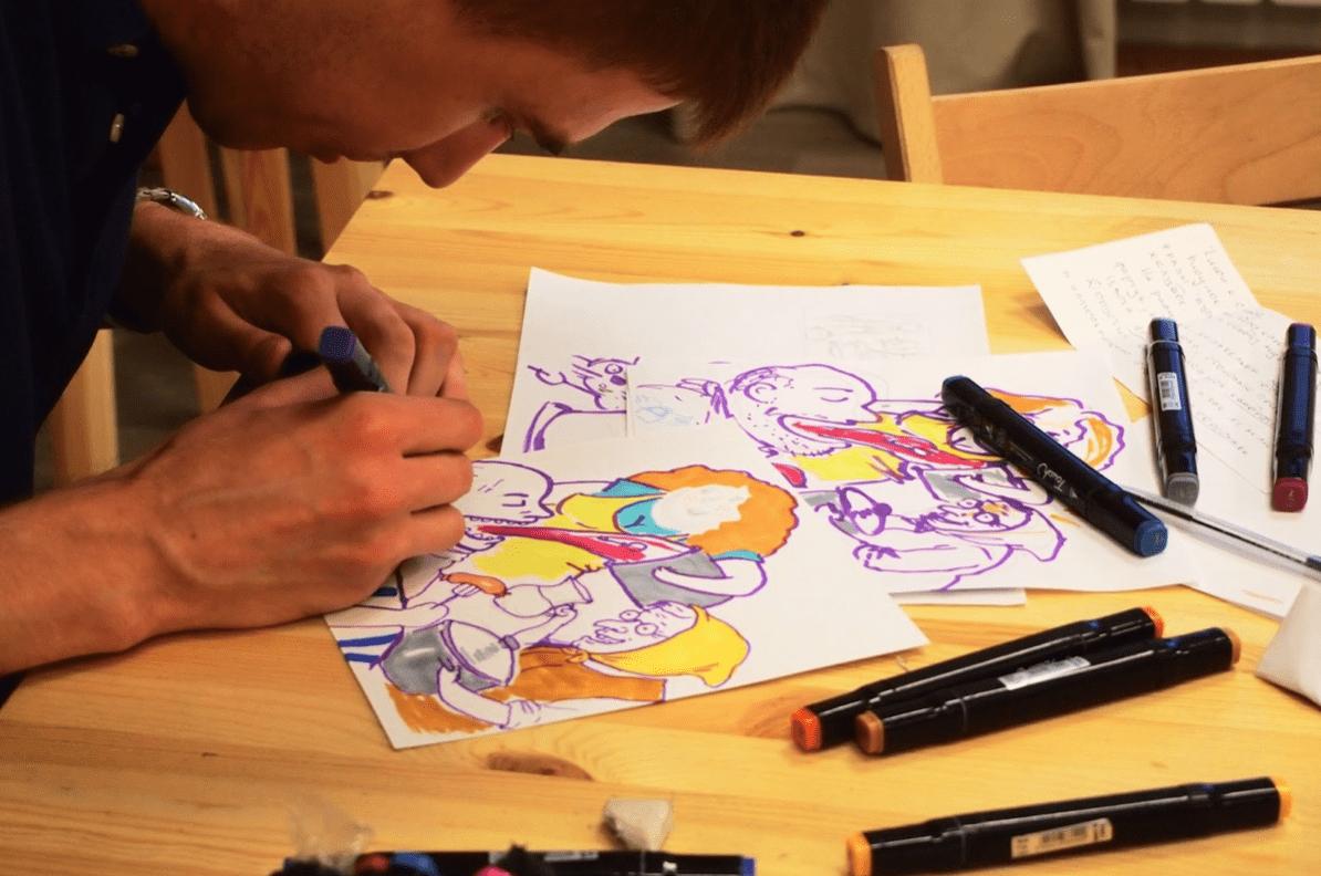 "📝 ""Illustration has a future while people have eyes"" - Konstantin Nikiteev - konstantin nikiteev 08"