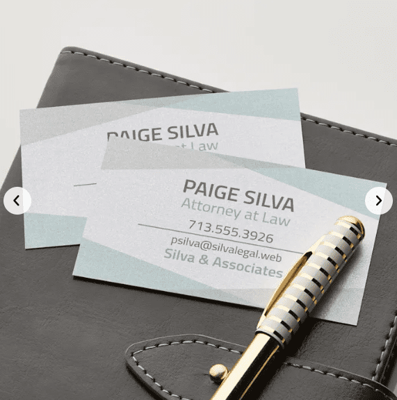 Pearl Business Cards.