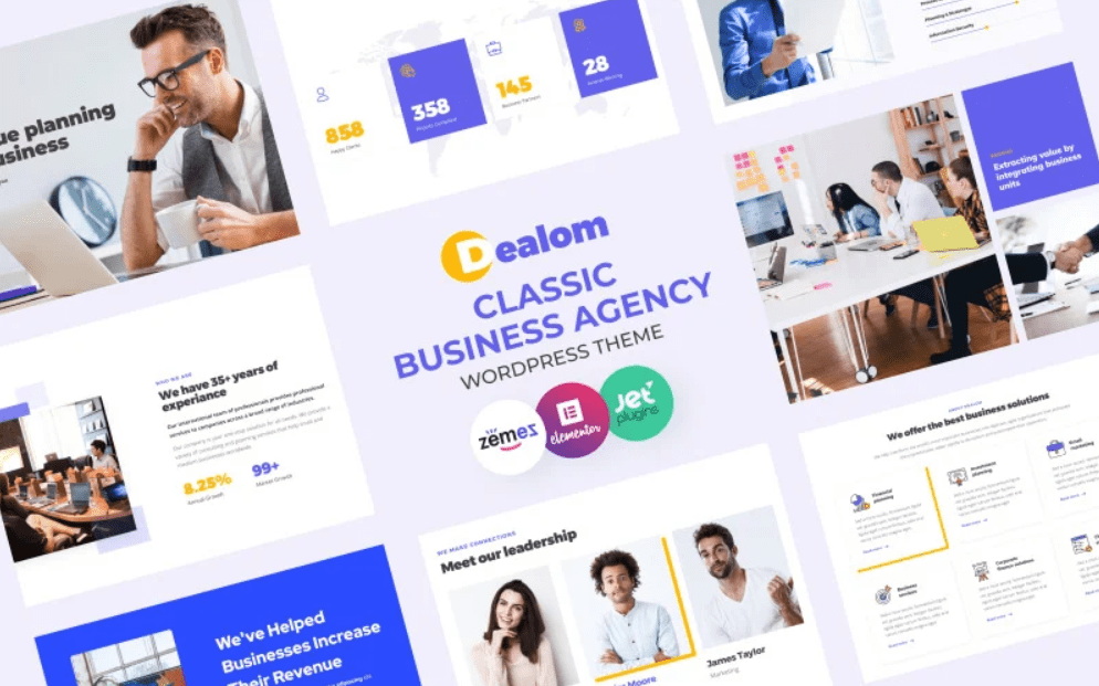 45+ Best Website Templates for Small Business in 2020 - small business website templates 10
