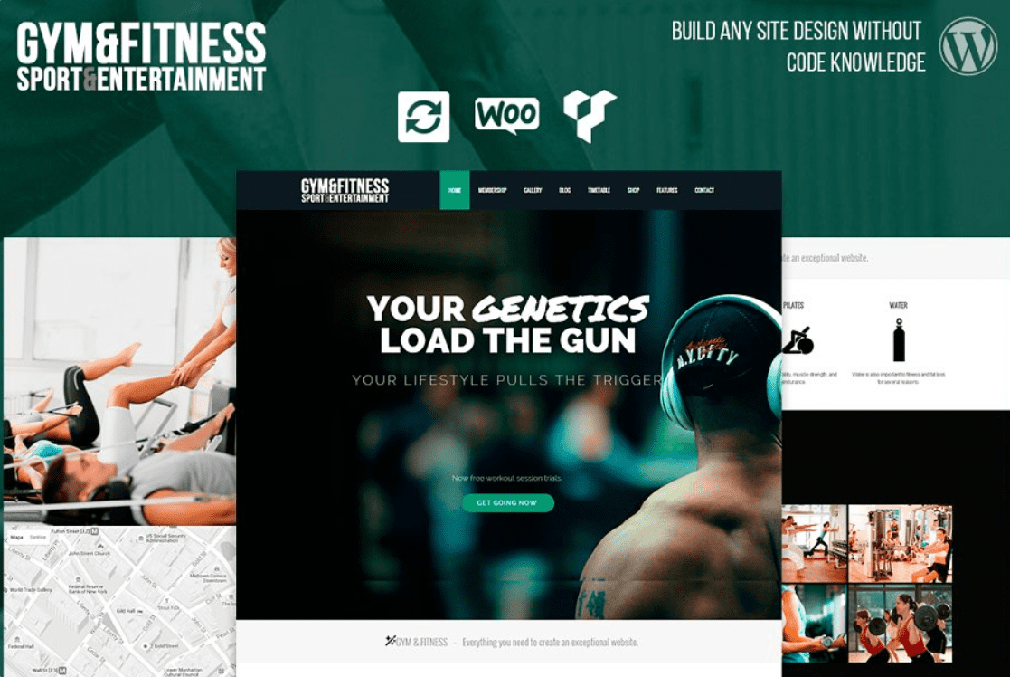 45+ Best Website Templates for Small Business in 2020 - small business website templates 2