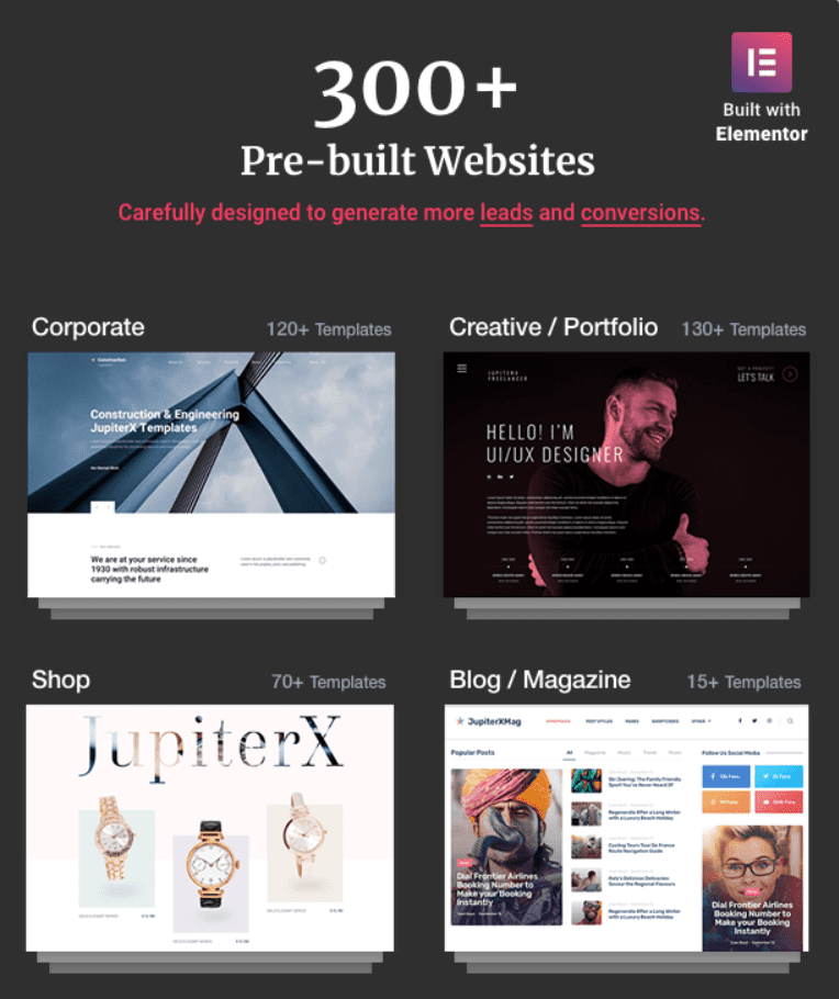 45+ Best Website Templates for Small Business in 2020 - small business website templates 9